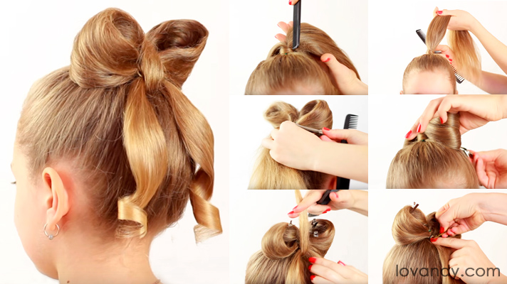 hair-bow-hairstyles-step-by-step